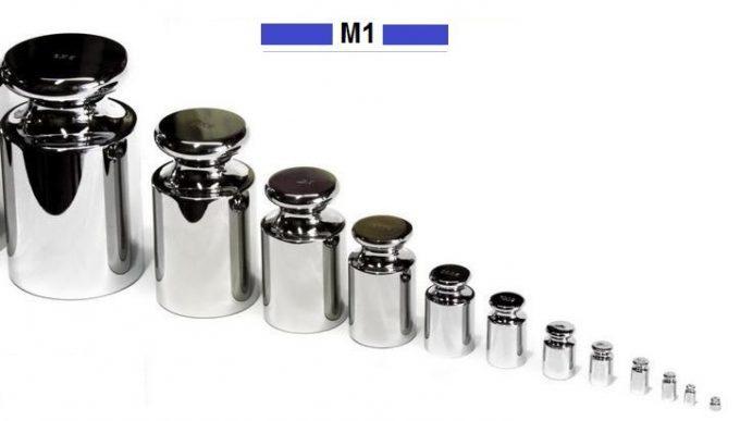 Kalibračné závažia triedy presnosti M1